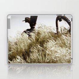Tall Grass in the Wind Laptop & iPad Skin