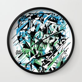 Street Diamond Wall Clock