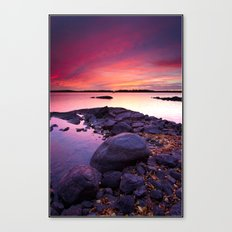 Separation Morning Canvas Print