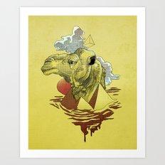 King of the Desert Art Print