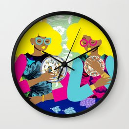 Porcelain Room Wall Clock
