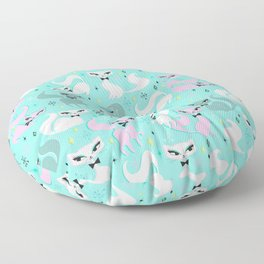 Swanky Kittens Floor Pillow