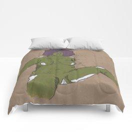 Éxtasis, a Huellas piece Comforters