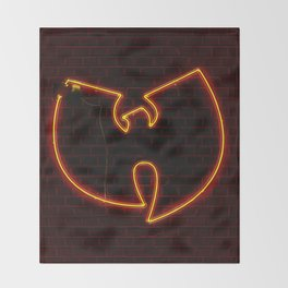 Wu Tang Neon Throw Blanket