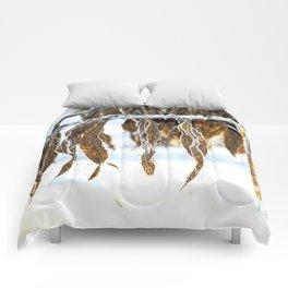 frozen beauty Comforters