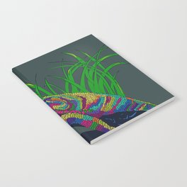 Colorful Lizard Notebook