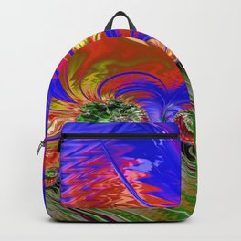 Grained Festiveness Fractal 8 Backpack
