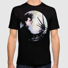 Edward Scissorhands: The story of an uncommonly gentle man. MEDIUM Black Mens Fitted Tee