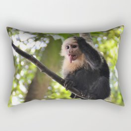 Baby Capuchin Rectangular Pillow