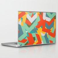 chevron Laptop & iPad Skins featuring Chevron by INDUR
