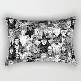 Horror Film Monsters Rectangular Pillow