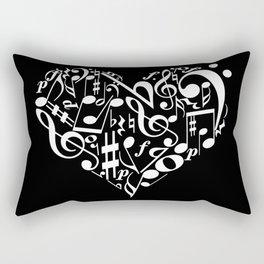 Invert Music love Rectangular Pillow