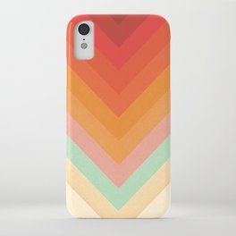 Rainbow Chevrons iPhone Case