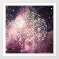 Sacred Geometry Universe 3 Art Print