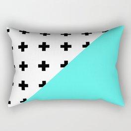 Memphis pattern 73 Rectangular Pillow