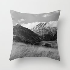 The Ice Cream Mountain Throw Pillow