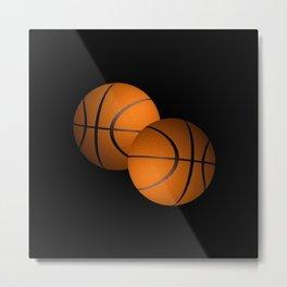 Basketball Sports Design Metal Print