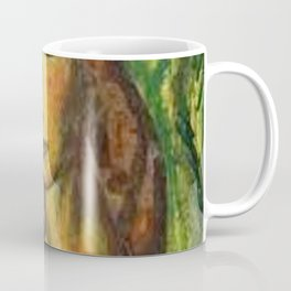 Girl in a Red Dress by Alfred Henry Maurer Coffee Mug