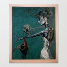 strange women Canvas Print