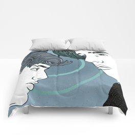 Blue Neighborhood Comforters
