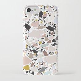 Terrazzo Pattern II. iPhone Case