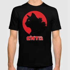 Catzilla Mens Fitted Tee Black LARGE