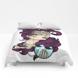 Oracle Girl Comforters