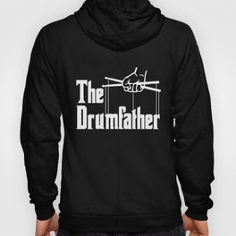The Drumfather Funny Drums product for Men Hoody