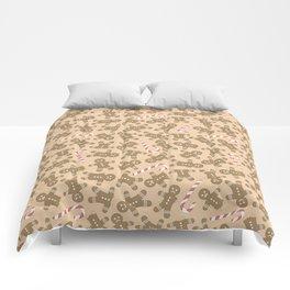 Gingerbread Man Pattern Comforters