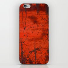 Red Roof Hatch iPhone & iPod Skin