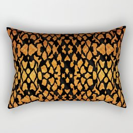 Mottled Leopard Skin Rectangular Pillow