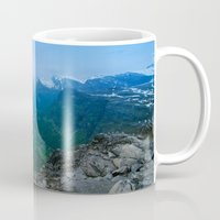 norway Mugs featuring Geiranger Norway by Adrian Windle