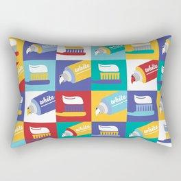 Toothpaste Rectangular Pillow