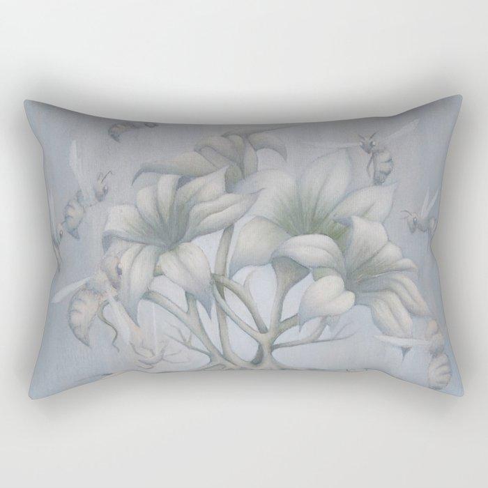 Apiphobia Rectangular Pillow