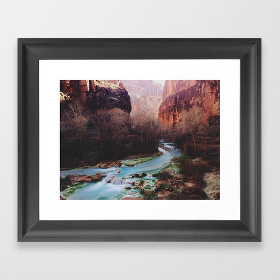 Havasu Canyon Creek Framed Art Print