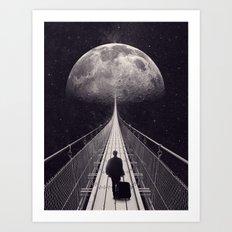 Space Trip Art Print