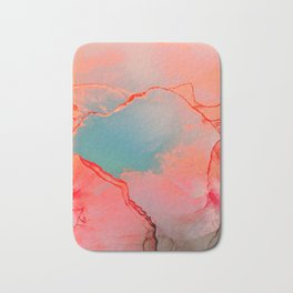 BETTER TOGETHER - LIVING CORAL by MS Bath Mat