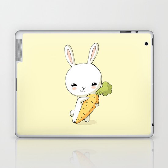 Bunny Carrot 2 Laptop & iPad Skin