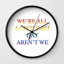 Harry Styles - We're all a little bit gay aren't we Wall Clock