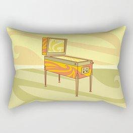 Retro games pinball machine Rectangular Pillow