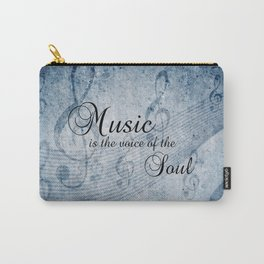 MUSIC & SOUL Carry-All Pouch