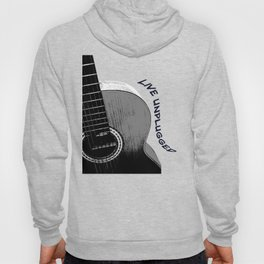Acoustic Guitar, Live Unplugged Hoody