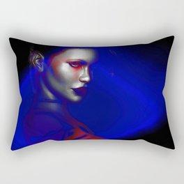 FEMININE MODERN ART | VIBRANT DESIGN | ABSTRACT | CONTEMPORARY ART Rectangular Pillow