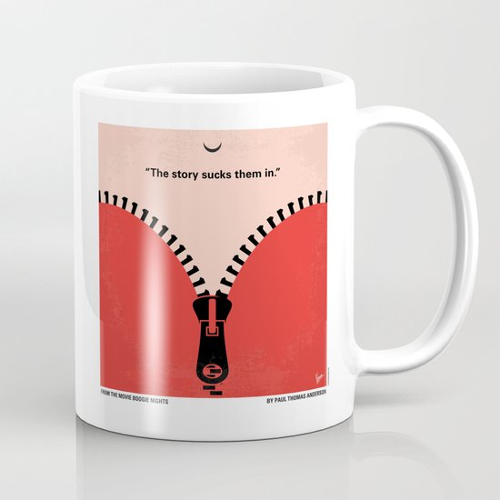 No167 My Boogie Nights minimal movie poster Mug