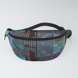 True Faith In A Blue Monday Fanny Pack