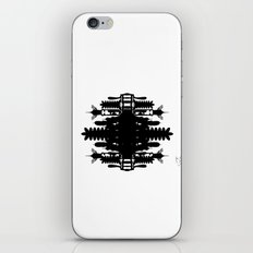 A Template for Your Imagination iPhone & iPod Skin