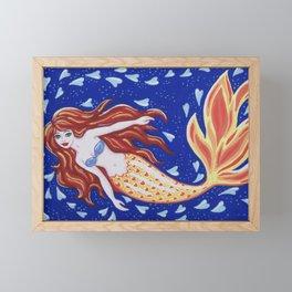 Flame of the Sea Framed Mini Art Print