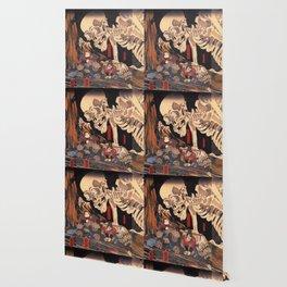 Takiyasha the Witch and the Skeleton Spectre, by Utagawa Kuniyoshi Wallpaper