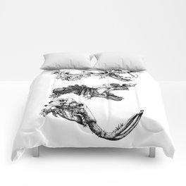 Prehistoric Bloom  Comforters