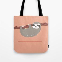 Sloth card - hello beautiful Tote Bag